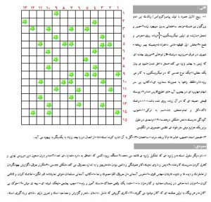 جدول سرگرمی پایه ششم
